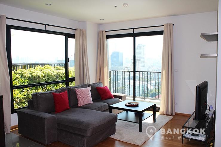 The Vertical Aree | Bright Modern High Floor 2 Bed 2 Bath near BTS photo