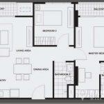 The Vertical Aree High Floor 2 bed 2 bath 68 sq.m near Ari BTS