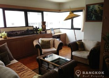Sathorn Gardens Spacious 1 Bed with Terrace Balcony to rent