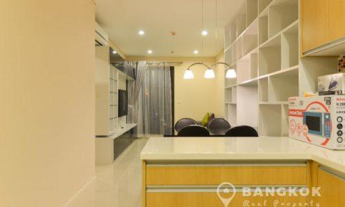 Villa Asoke Modern 1 Bed Condo near Phetchaburi MRT