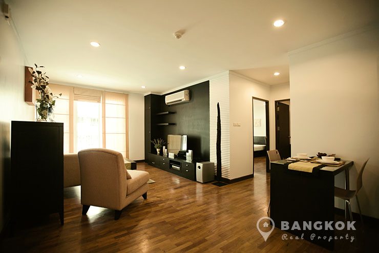 Baan Siri Sukhumvit 13 | High Floor 2 Bed 2 Bath near Nana BTS photo