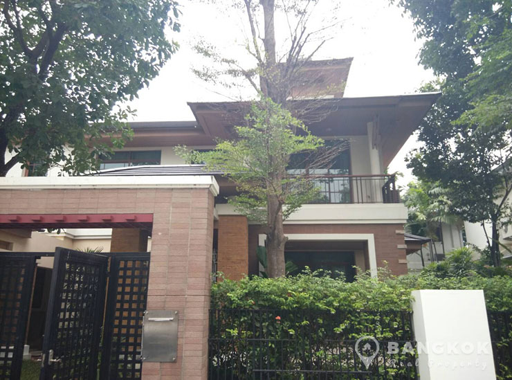 Detached 4 Bed 4 Bath House at Narasiri Pattanakarn Srinakarin to rent