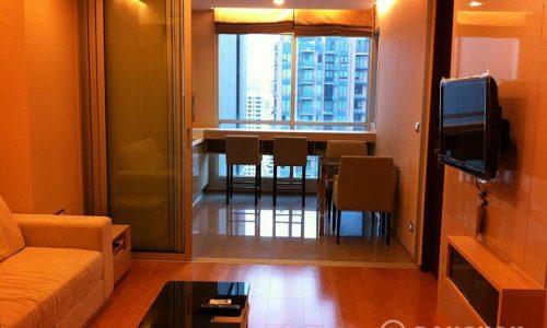 The Address Asoke Modern High Floor 1 Bed near MRT to rent