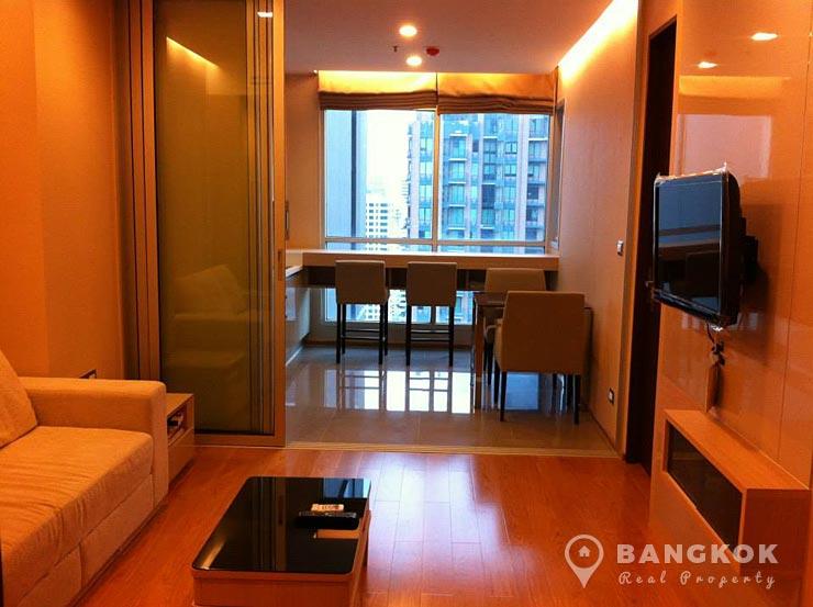The Address Asoke | Modern High Floor 1 Bed near MRT photo