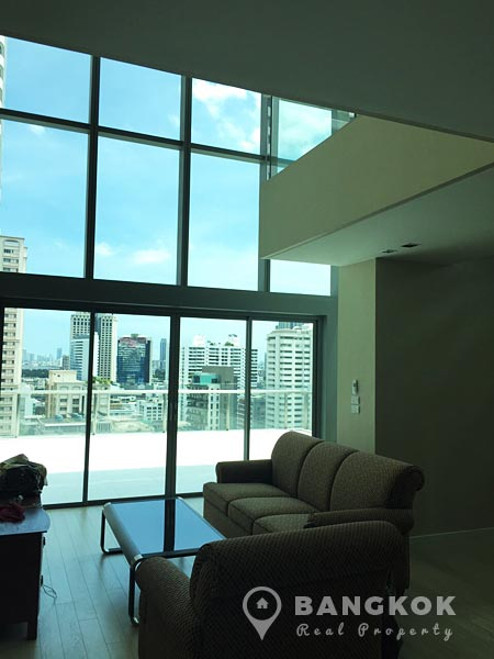 The Room Sukhumvit 21 Modern 2 Bed 3 Bath Duplex Condo For