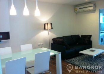 The Room Sukhumvit 79 Condo Modern 2 Bed 1 Bath near BTS for sale