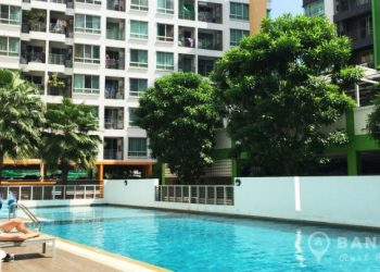 At City Sukhumvit high floor 1 bed 1 bath 36 sq.m for sale near BTS
