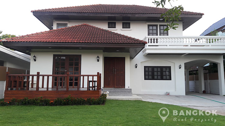 Spacious Detached 3 Bed Srinakarin House in Compound photo