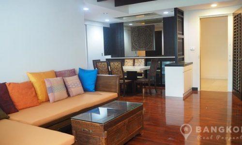 Supreme Elegance mid floor spacious 2 bed 2 bath condo 145 sq.m to rent
