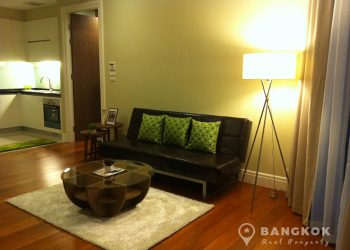 Bright Sukhumvit 24 Elegant Modern 2 Bed 2 Bath Condo to rent