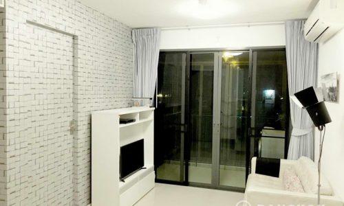 IDEO Blucove Sukhumvit Modern 2 Bed 2 Bath at Udomsuk BTS to rent