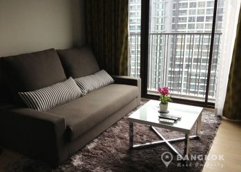 Noble Refine Spacious High Floor 1 Bed in Phrom Phong to rent