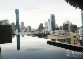 Saladaeng Residences - Ultra Modern 2 Bed 2 Bath 89 sq.m for sale