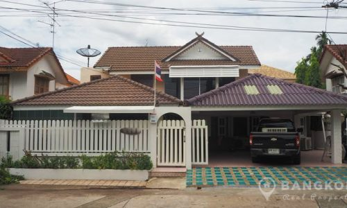 Sammakorn Village Ramkhamhaeng Detached 3 +1 Bed 3 Bath House to rent