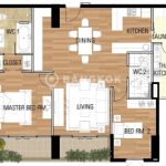The Madison Stylish High Floor 2 Bed 2 Bath near BTS to rent