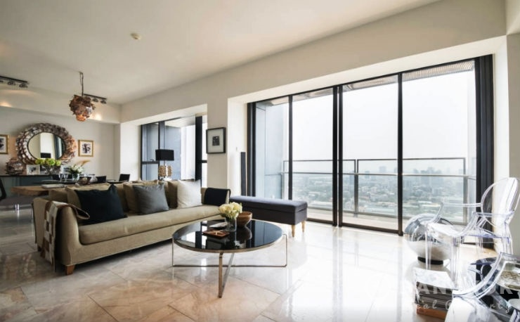 The Met Sathorn | Stunning Spacious 3 Bed with River Views photo
