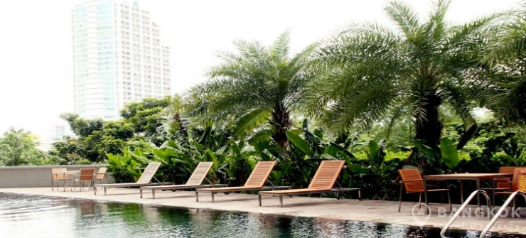 The Star Estate at Narathiwas Very Spacious Modern 1 Bed Condo for sale