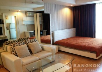 Symphony Sukhumvit Modern Studio Condo at Bangchak BTS to rent