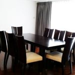 Very Spacious 3 Bed 4 Bath Asoke Apartment overlooking Lake to rent