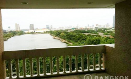 Very Spacious 3 Bed 4 Bath Asoke Apartment overlooking Lake sukhumvit 16 to rent