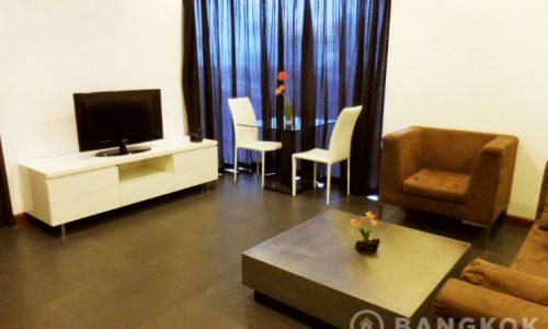 Baan Saraan Spacious High Floor 1 Bed in Phrom Phong to rent