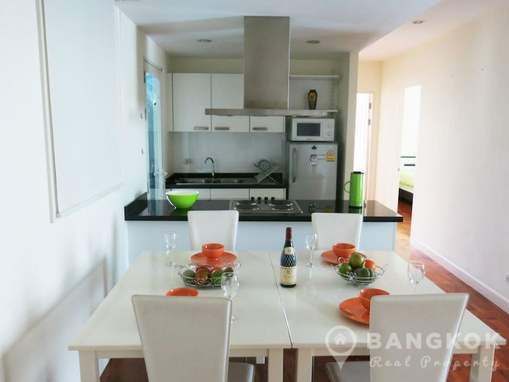 Baan Siri 31 Beautiful Corner 2 Bed 2 Bath in Phrom Phong