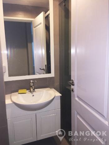 condolette dwell sukhumvit  brand new spacious  bed  bath for sale: dwell bathroom cabinet