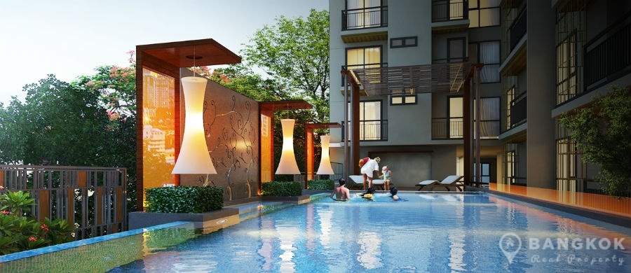 Mirage Sukhumvit 27 Bright Modern 1 Bed Condo near BTS to rent