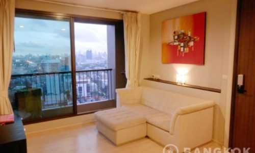 Rhythm Sukhumvit 441 Elegant High Floor 2 Bed 1 Bath at BTS