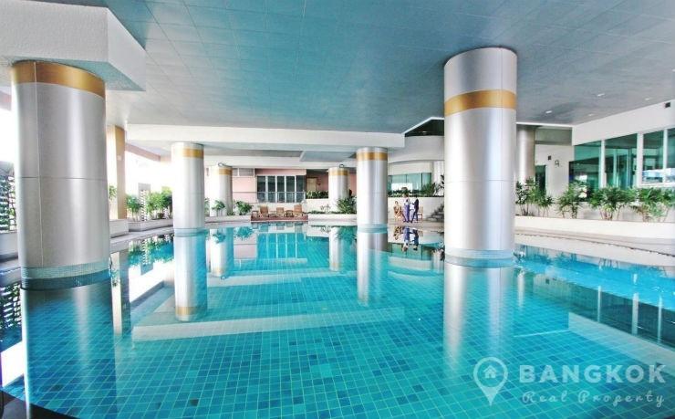 Silom Grand Terrace | Spacious Modern High Floor 2 Bed 2 Bath photo