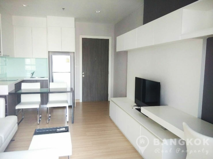 Urbano Absolute Sathon Taksin | Modern High Floor 1 Bed photo