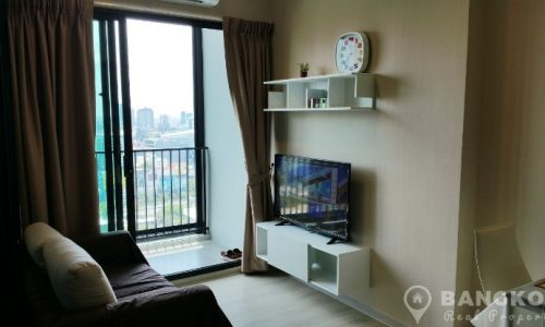 Condolette Midst Rama 9 Brand New High Floor 1 Bed near MRT to rent
