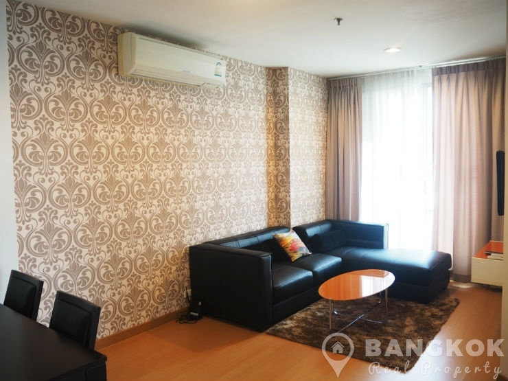 Life @ Sukhumvit Superb Modern 2 Bed 2 Bath near BTS to rent