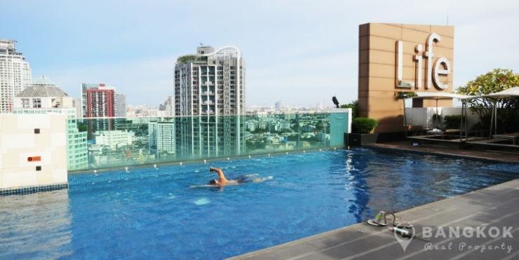 Life @ Sukhumvit high floor 1 bed 1 bath 41 sq.m for sale near BTS