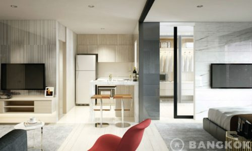 Life Asoke Brand New Modern 1 Bed at Phetchaburi MRT for sale