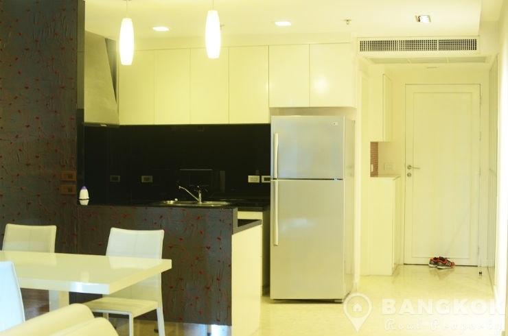 Nusasiri Grand Condominium | Spacious Modern 1 Bed 2 Bath at BTS photo