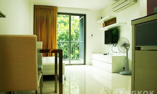 Silk Sanampao modern low rise 1 bed 1 bath 40 sq.m near BTS to Rent