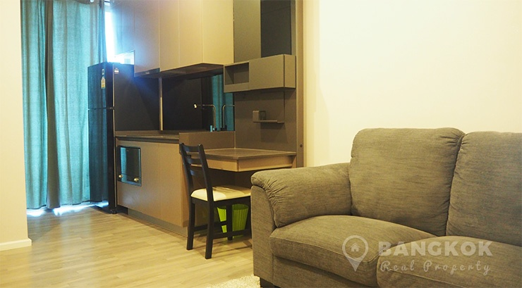 The Room Sukhumvit 69 1st Rental Modern 1 Bed 1 Bath near BTS to rent