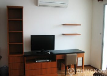 Villa Sathorn Spacious Modern Studio Condo near BTS to rent