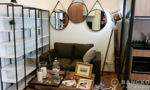 Hasu Haus Brand New 1st Rental 1 Bed Low Rise near BTS to rent