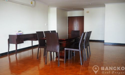 Sathorn Gardens Spacious High Floor 3 Bed 4 Bath Condo to rent