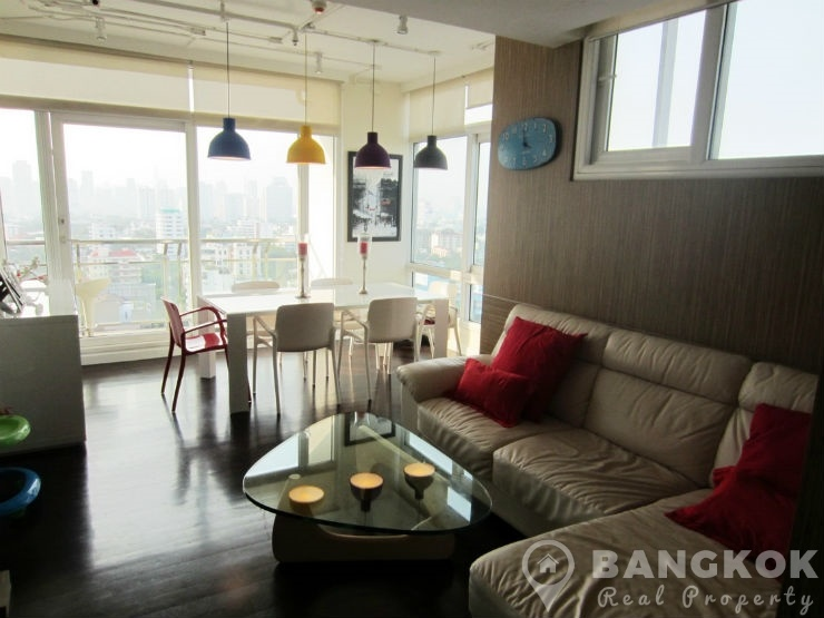 The Height Thonglor Spacious Modern Corner 2 Bed 2 Bath to rent