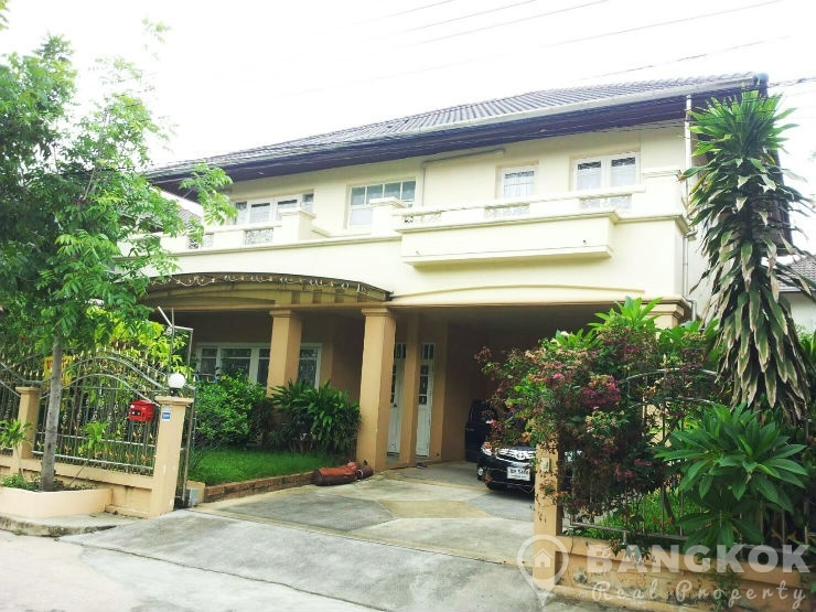 Modern Detached 3 Bed House at Perfect Place Ramkhamhaeng to rent