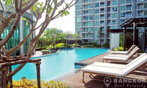 Rhythm Ratchada Condominium Modern High Floor 1 Bed next to MRT to rent