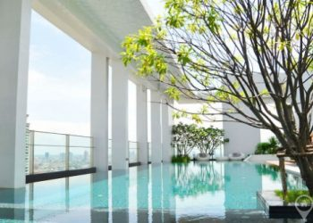 Rhythm Sathorn - Narathiwas Modern 1 Bed near Chong Nonsi BTS to rent