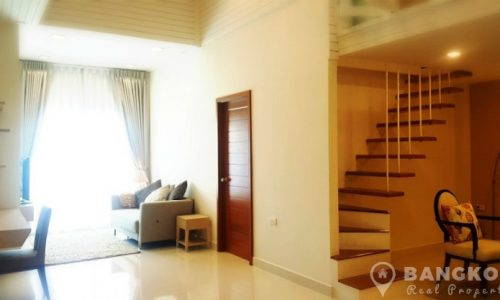Modern Spacious 2 Bed 2 Bath Duplex Thonglor Apartment to rent