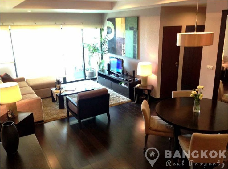 Sathorn Gardens Condominium Stunning Renovated 2 Bed 2 Bath to rent