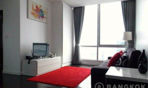 Sky Villas Sathorn High Floor Modern 2 Bed 2 Bath near Chong Nonsi BTS to Rent