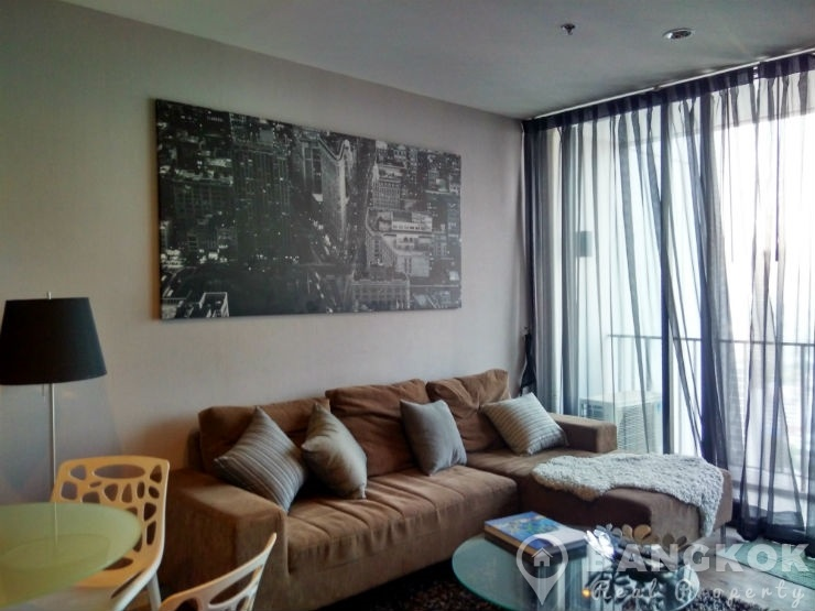 Issara Ladprao Modern High Floor 2 Bed 1 Bath near MRT to rent