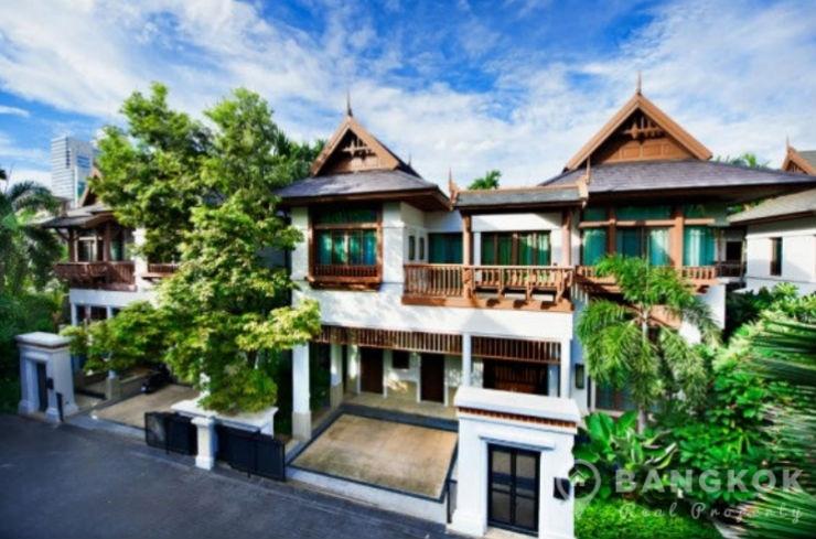 Rent L H Villa Sathorn Detached 4 Bed Villa With Private